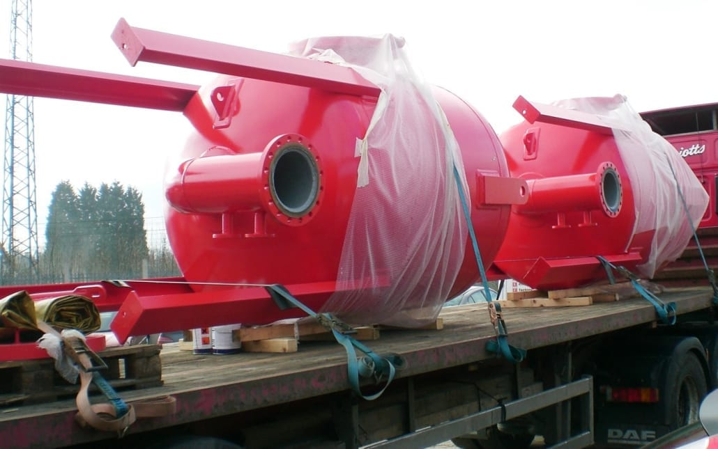 ASME surge Vessels, cyclic loading, manufacturing, DWI paint, PD5500,, manufacturing, water authority