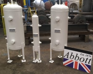 Bespoke Air receivers and pressure vessels
