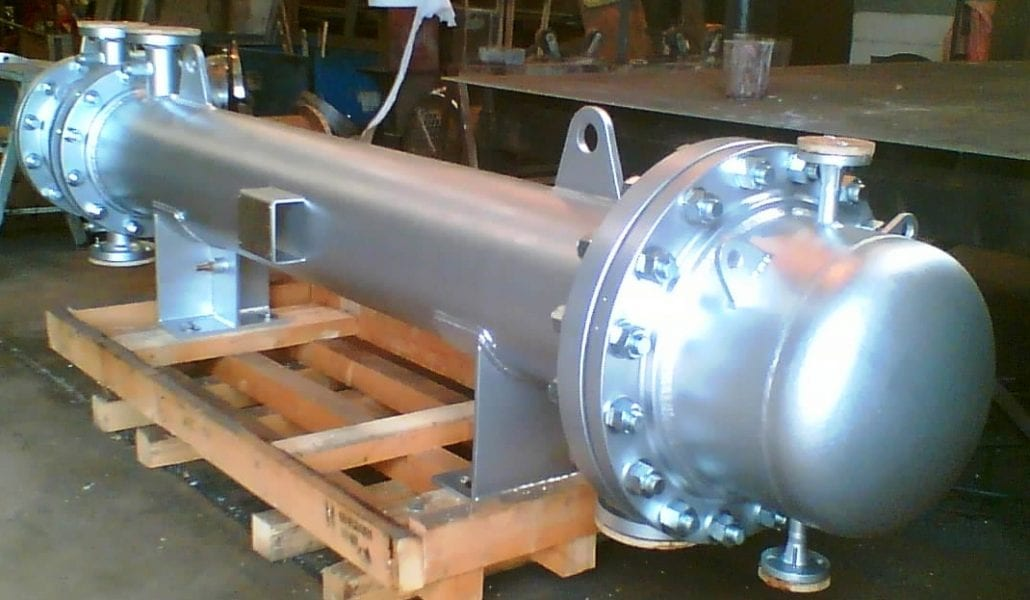 Completed Shell & Tube Heat Exchanger