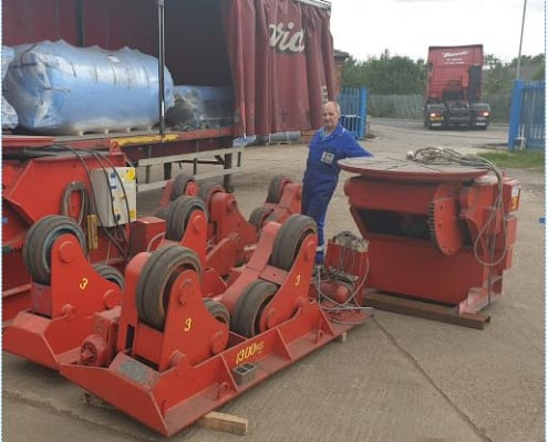 New rotators for manufacturing quality Pressure Vessels