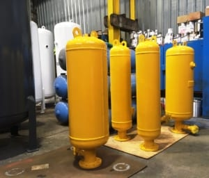 sewage damper vessels for the Water Industry