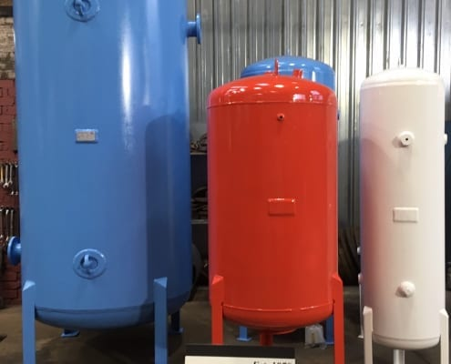 Red, white and blue quality Air Receivers
